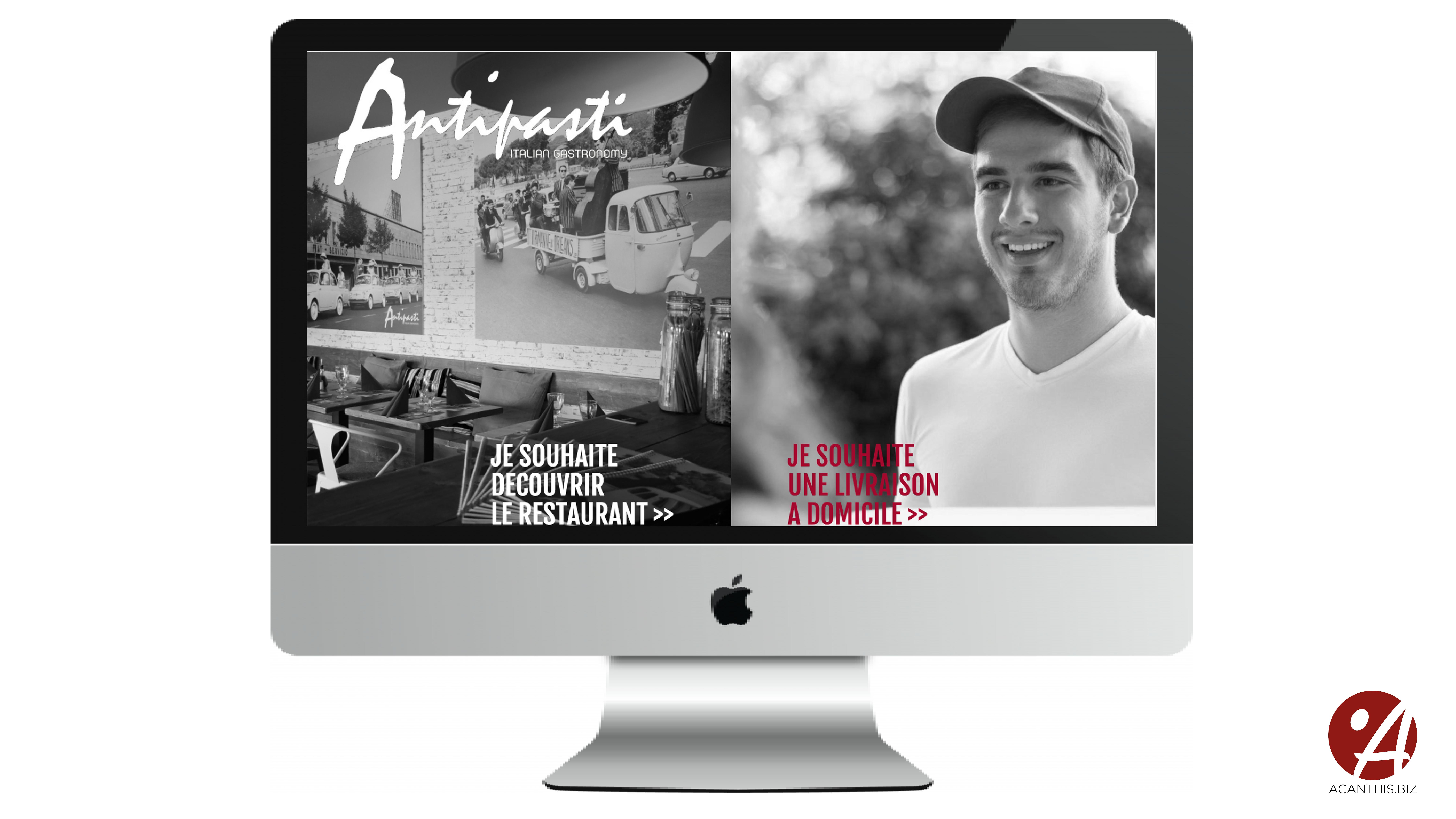Site Internet Antipasti