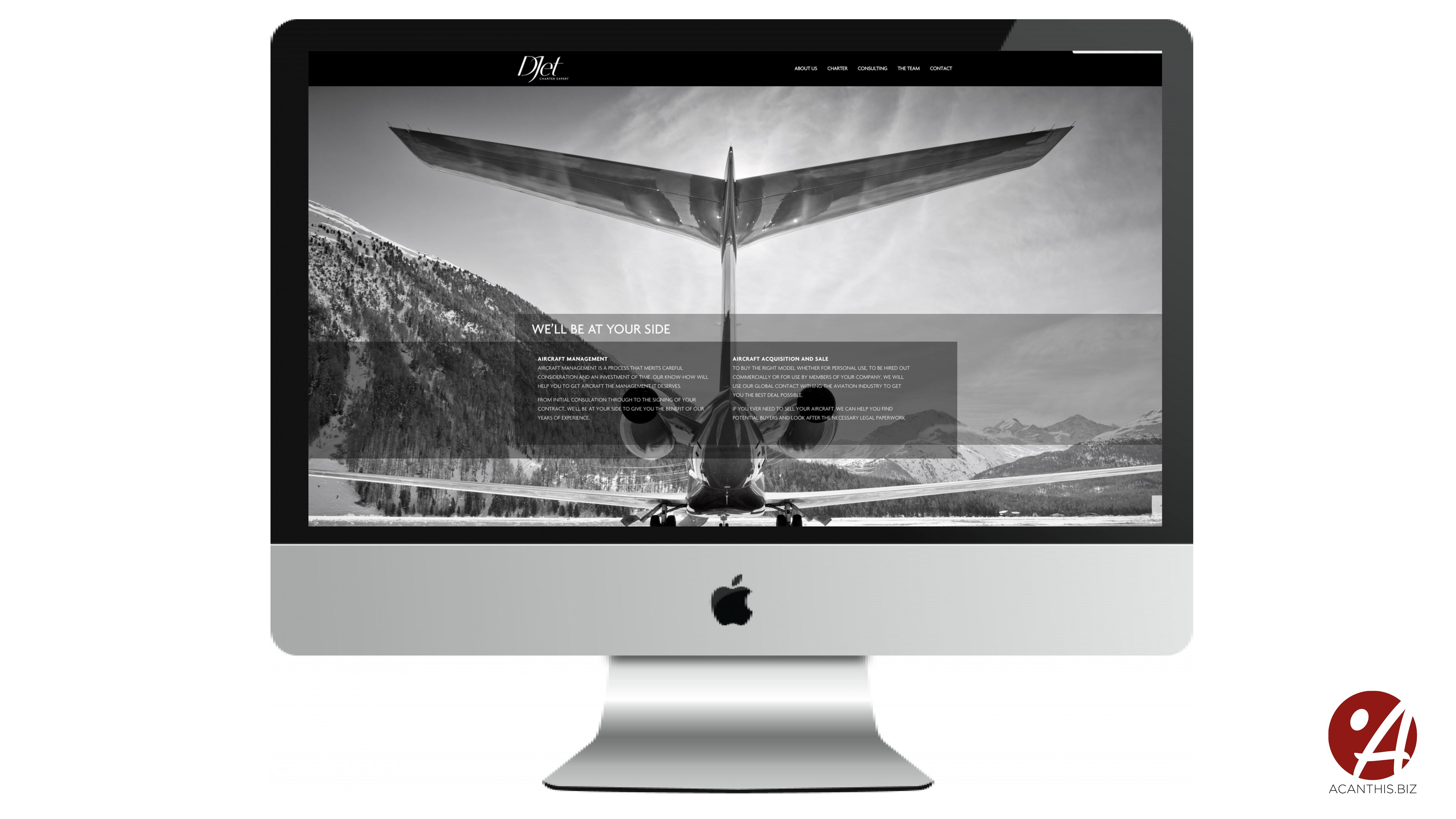 Site Internet D-Jet2