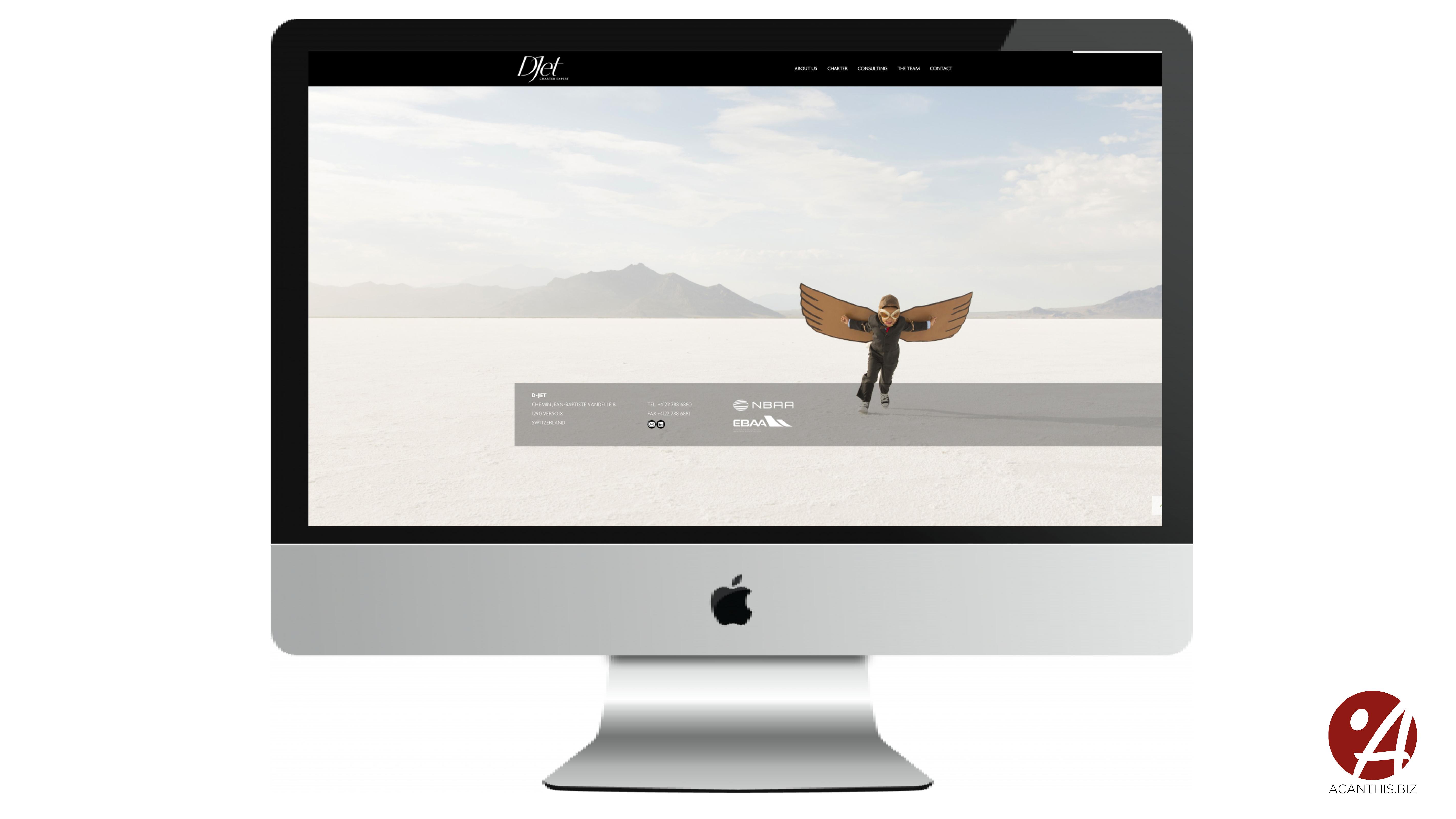 Site Internet D-Jet4